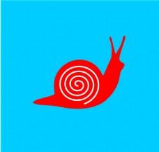矢量蜗牛图片