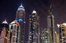 都市夜景圖片