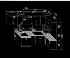 异形厨房橱柜设计图片