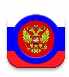 俄罗斯风格ICON设计图片