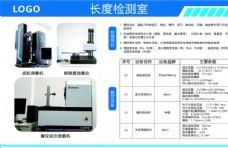 长度检测室科室展板图片