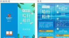哈尔滨银行折页图片