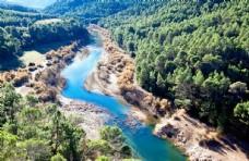 江河溪流图片