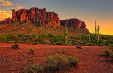 荒漠戈壁图片