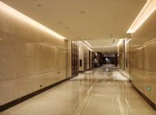 酒店装潢走廊图片