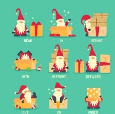 圣诞老人插画图片