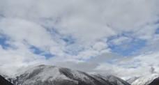 延时雪山风景