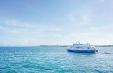 仙本那码头游船图片