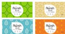 湿巾包装设计图片