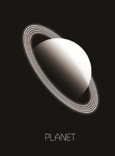 星球分层素材图片