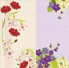 PSD分层花纹素材图片