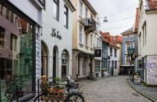国外商业步行街图片
