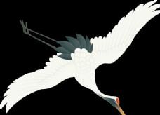 水墨中国风仙鹤图片