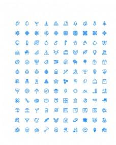 120个庆祝节日UI图标图片