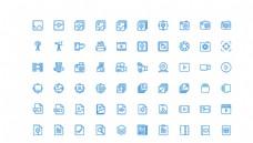 60个图片影音UI图标