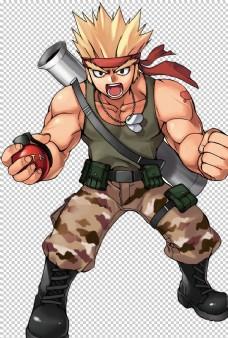 卡通游戏人物高清图图片
