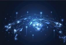 上升的线条信号网络通讯通信图片