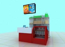 食品店专柜图图片
