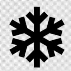 雪花图标ico图片
