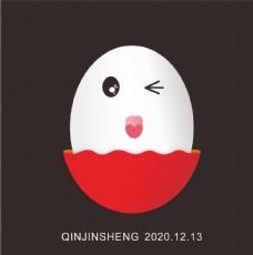 表情包鸡蛋红图片