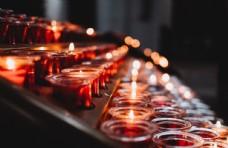 圣诞节烛光杯图片