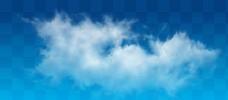 云png分层白云图片
