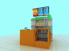 商场食品柜图片
