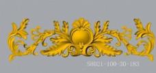 建筑装饰浮雕花SH001dwg图片