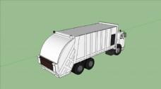 垃圾车SU模型图片