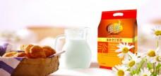 早餐豆奶图片