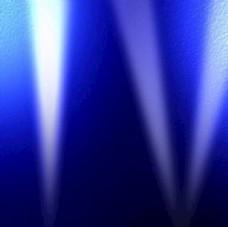 蓝色舞台灯光背景素材
