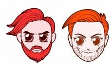 男人AI插画图片