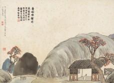 齐白石国画香畹吟樽图图片