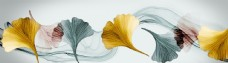 轻奢银杏装饰画图片