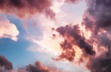 天空的云彩图片