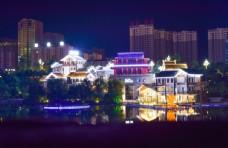 市中心城市图片