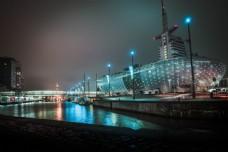 邮轮夜景图片