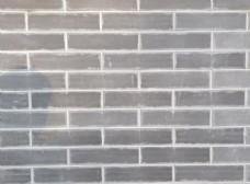 灰砖墙图片