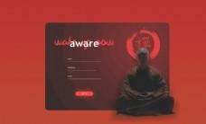 网页设计SignupAwar图片