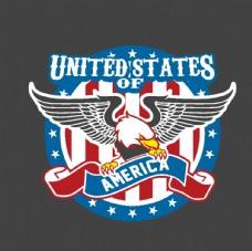 徽章绣章刺绣图案美国鹰图片