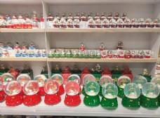圣诞水晶球图片