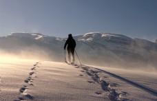滑雪的人图片