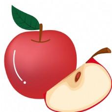 卡通苹果素材图片