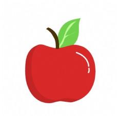 矢量卡通苹果装饰图片