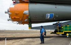 航天器载人火箭图片