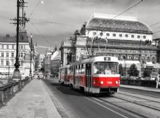 火车城市图片