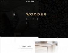 网页设计WOODER图片