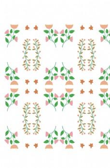 植物叶子花纹图片