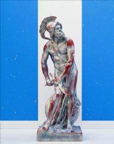 C4D模型凯撒大帝雕像石膏图片