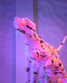 C4D模型斑点狗图片
